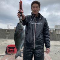 02月07日釣果(磯)